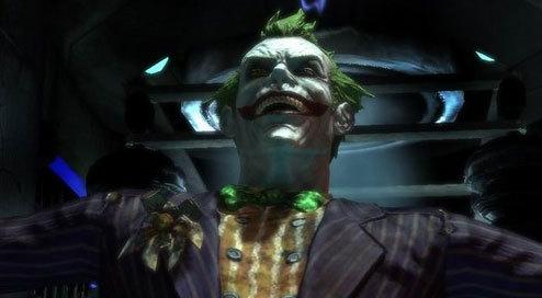 The joker arkham asylum