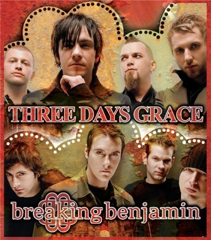 Three Days Grace kertas dinding called Three Days Grace