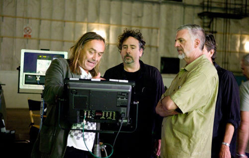 Tim Burton Behind The Scenes Of Alice In Wonderland