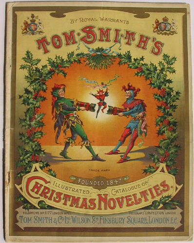 Christmas wallpaper called Tom Smith's Christmas Crackers (Poster)