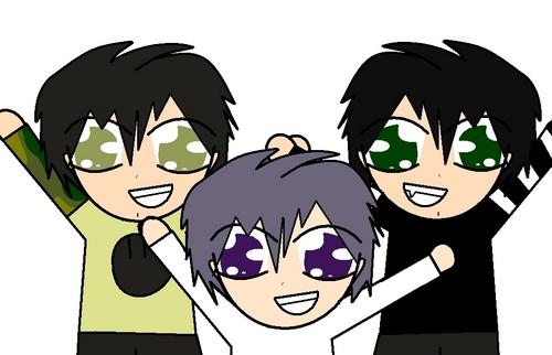 Trent,Yuki,and I!!!