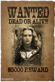Wanted Poster - alice-in-wonderland-2010 fan art