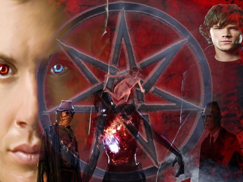 another Fan made Supernatural desktop Hintergrund
