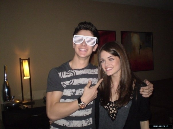 David Henrie and Lucy Kate Hale images david and lucy ...  Lucy Hale And David Henrie 2017