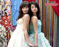 selena-gomez-and-demi-lovato - demi and selena ppp wallpaper