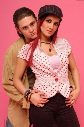 dulce maria & chris