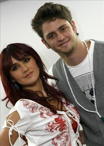 dulce maria & christopher