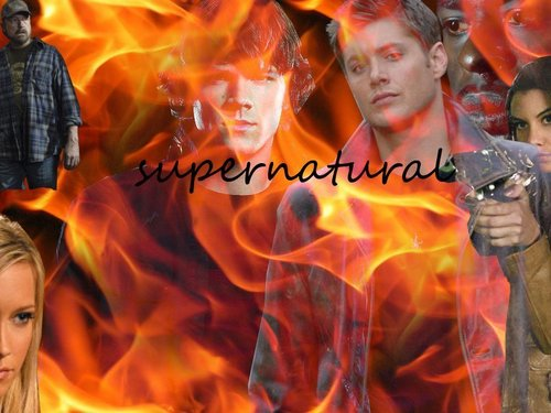 fan made supernatural desktop fondo de pantalla