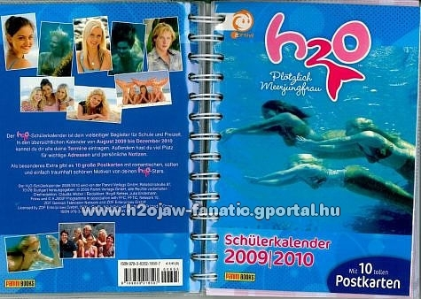 h2o posters book
