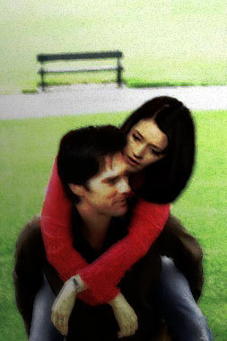 Hotch & Emily 壁纸 probably with a 便门, wicket titled hotch & emily ~ big hug