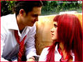 rebelde: roberta &amp; diego - dulce-maria-and-christopher screencap