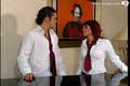 rebelde: roberta & diego - dulce-maria-and-christopher screencap