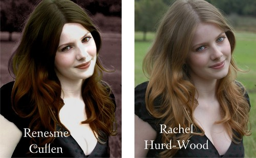 Twilight Series wallpaper with a portrait titled renesmee rachel hurd-wood