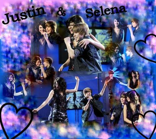 selena and justin <3