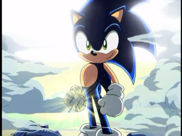 Dark Super Sonic Images Wallpaper And Background Photos