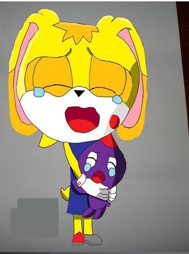 별, 스타 the rabbit (crying)