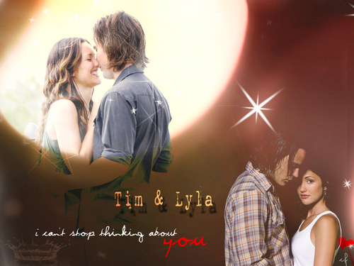 tim & lyla - friday-night-lights Wallpaper