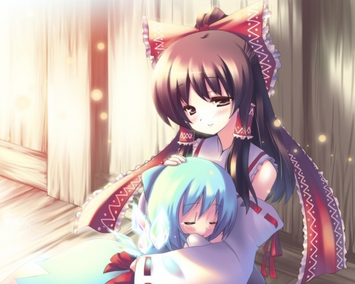 tsunami and kyouki (grandmother)