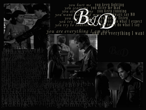 what I want - damon-and-bonnie Wallpaper