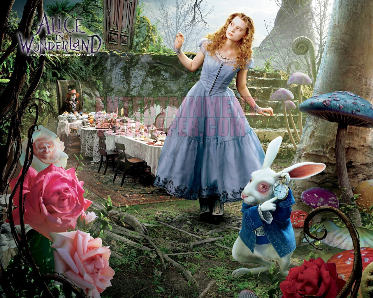 Upcoming movies alice in wonderland (2010)