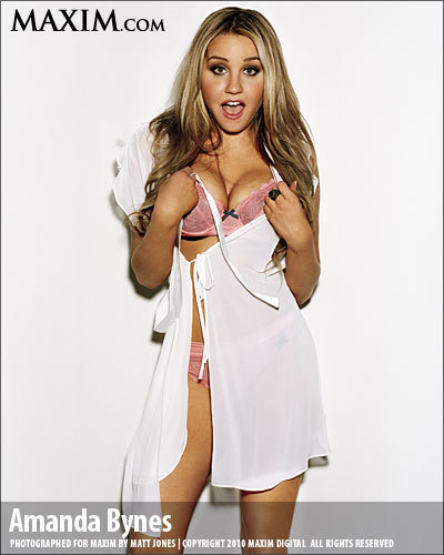 Amanda Bynes wallpaper titled Amanda in MAXIM