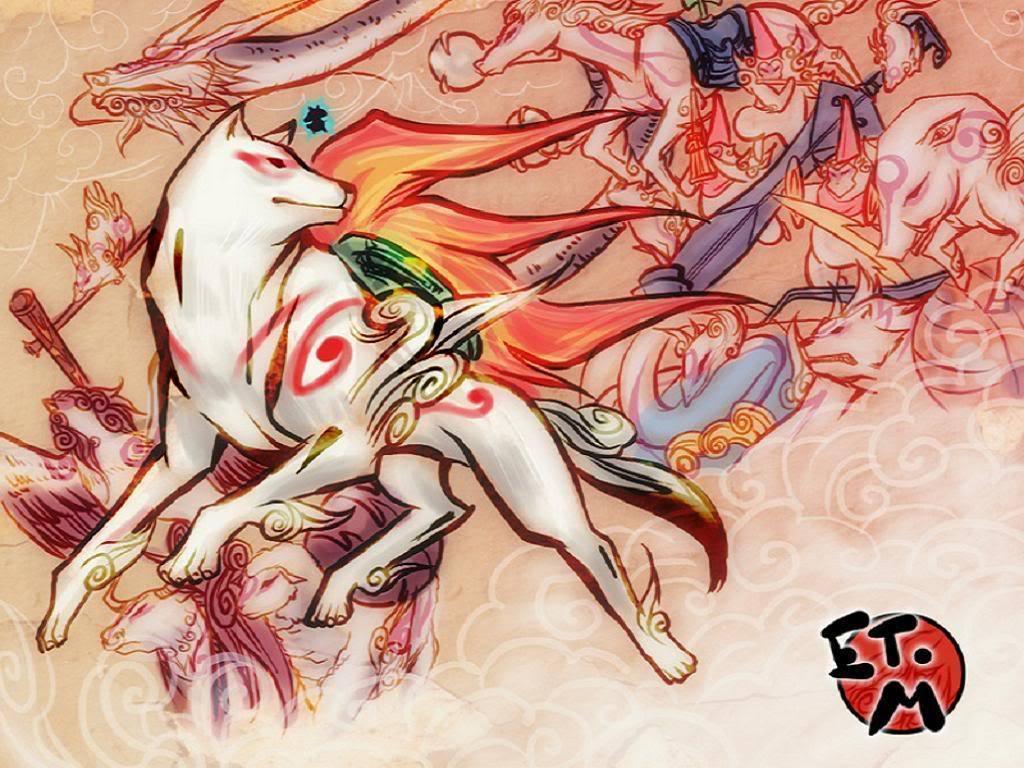 Okami Amaterasu images Amaterasu & the Gods HD wallpaper and ...