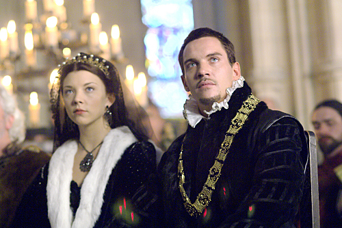 The Tudors wallpaper titled Anne and Henry