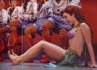 Ariel gets legs