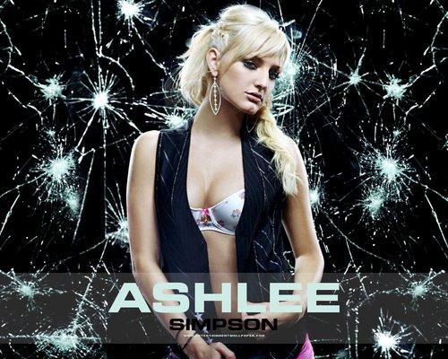 Ashlee Pretty karatasi la kupamba ukuta