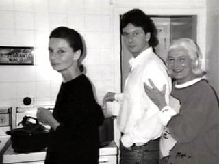 Audrey with her son Sean and friend Connie Wald. -1990