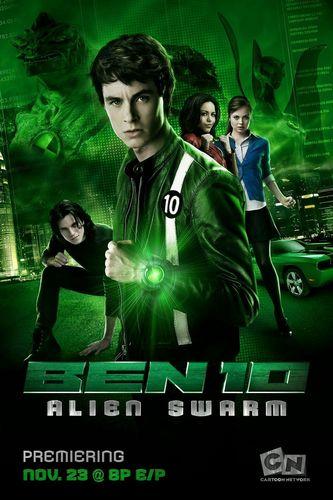 Ben 10: Alien Force wallpaper entitled BEN10 Alien Swarm