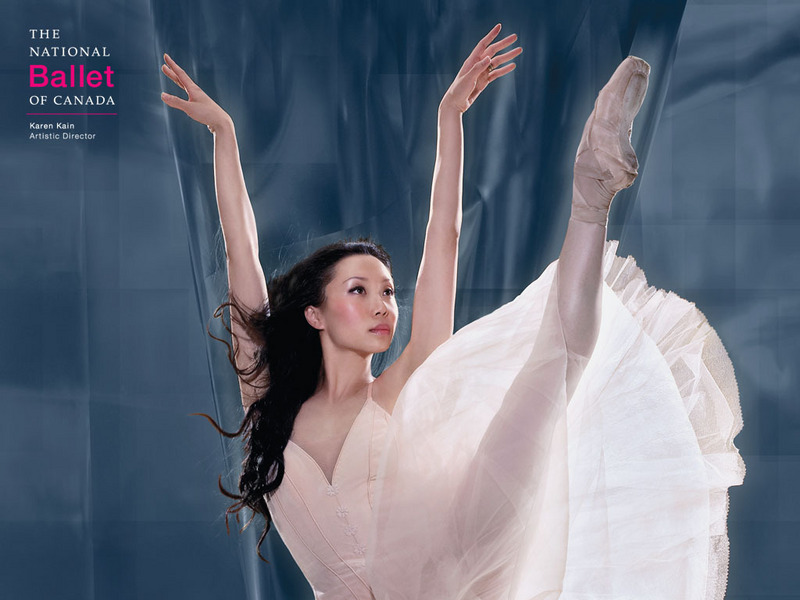 ballerina wallpaper. Canada - Ballet Wallpaper