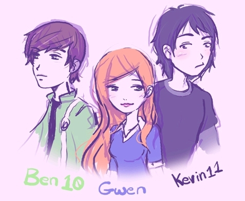 Ben,Gwen and Kevin