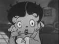 Betty Boop in mysterious mose