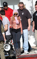 Christina Aguilera & Cam Gigandet's Motorcycle Ride - twilight-series photo