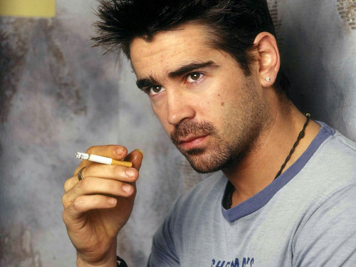 Colin Farrell wallpaper possibly containing alcohol and a coffee break called Colin Sexy Wallpaper