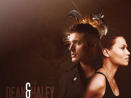One Tree Hill & Supernatural wallpaper titled Dean and Haley Walls