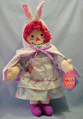 Easter Raggedy Ann Doll
