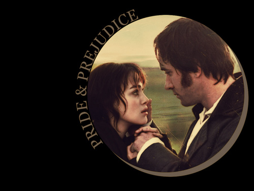 Pride and Prejudice wallpaper containing a business suit called Elizabeth and Mr. Darcy