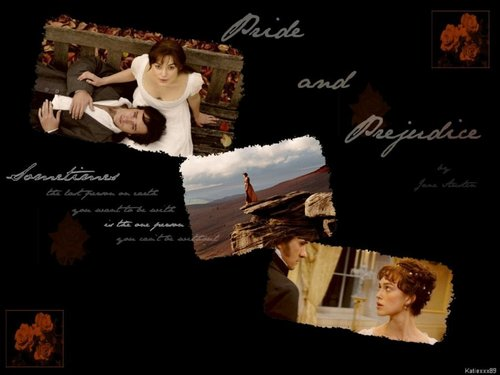 Pride and Prejudice Couples দেওয়ালপত্র with a sign called Elizabeth and Mr. Darcy