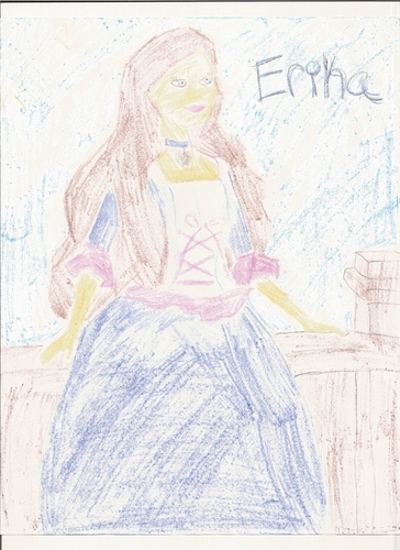 Barbie Princess and the Pauper wallpaper containing anime called Erika