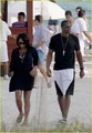 Gabby & Dwayne Wade @ Beach - gabrielle-union photo