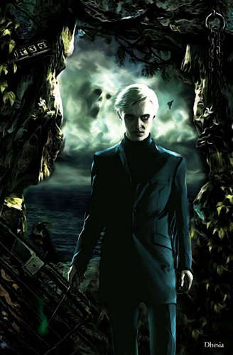 Harry Potter Halfblood Prince-Draco Malfoy