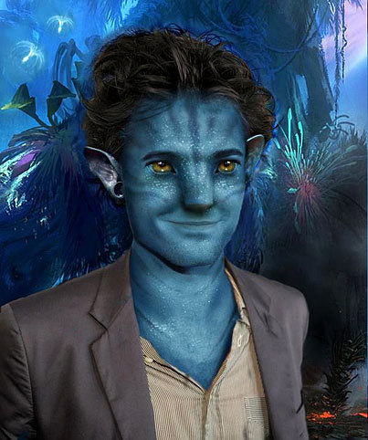 How Rob would look like as an Avatar