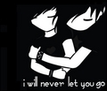 I will never let tu go...