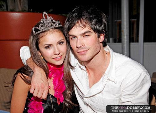 Ian and Nina on Nina's bday