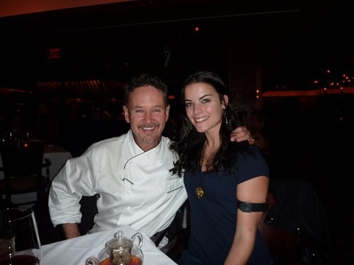 Jaimie with Chef Stephen