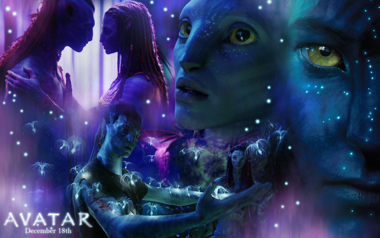 Avatar jake neytiri wallpaper