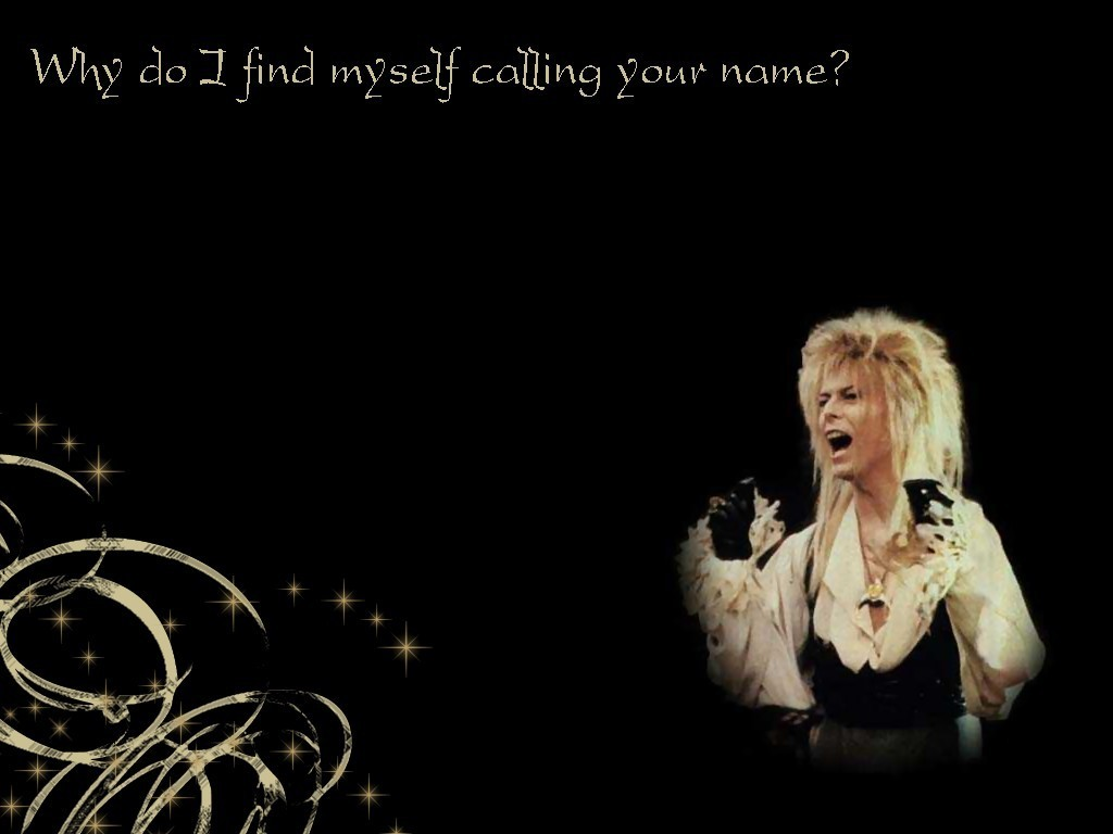 gallery for labyrinth wallpaper jareth