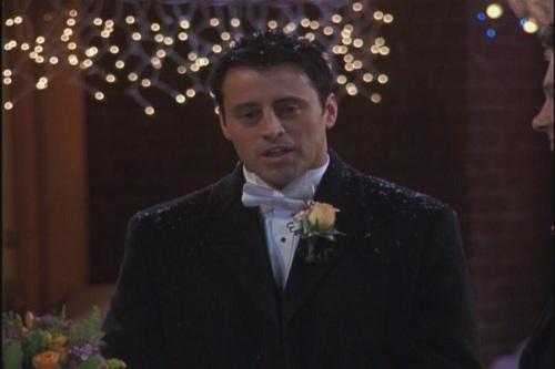 Joey tribbiani wedding